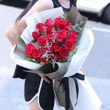 真爱——19支精品红玫瑰