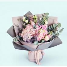 繁花相伴——11支精品粉玫瑰
