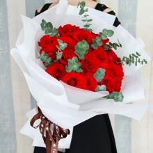 望你幸福——19支精品红玫瑰