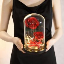 爱无限——永生花玻璃罩礼盒