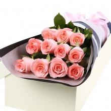 直到永远——11支精品粉玫瑰