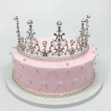 粉红点点——奶油生日蛋糕