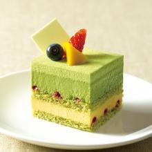 清凉一夏——抹茶慕斯蛋糕