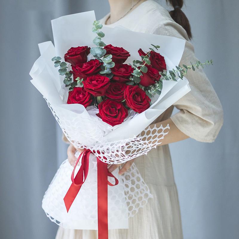 ww爱你多一点——11支精品红玫瑰