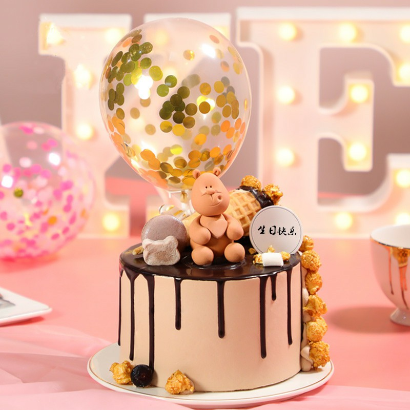 ww甜美幸福——奶油网红生日蛋糕