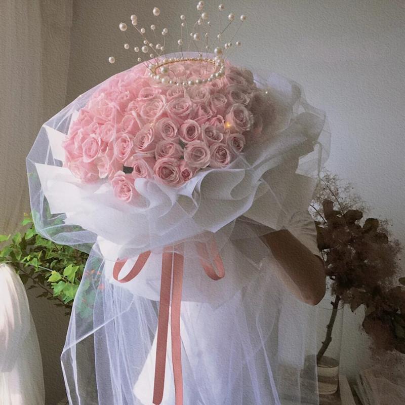 因为爱情——52支粉玫瑰