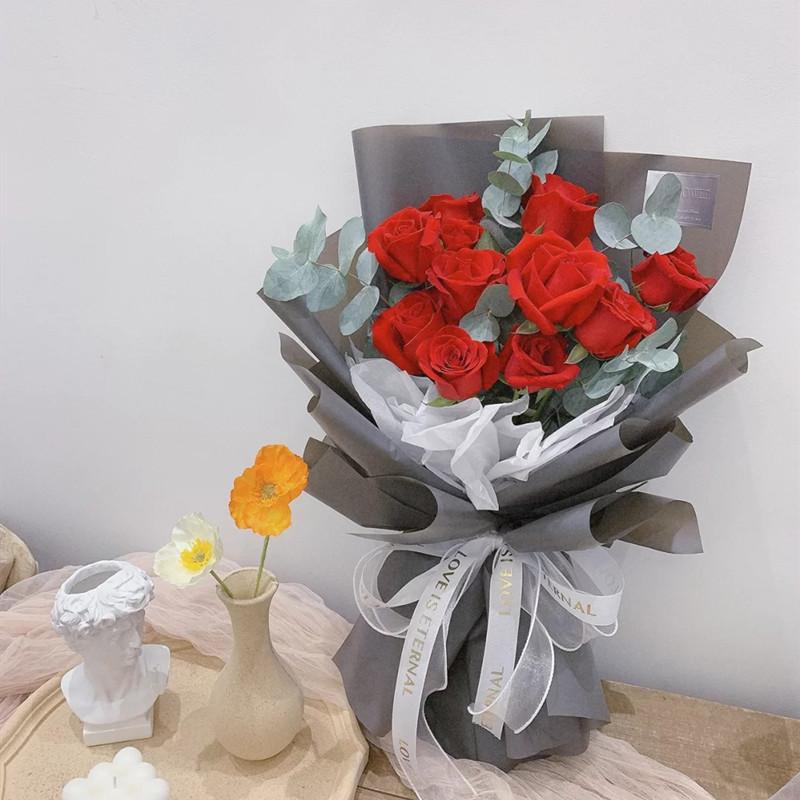 声声鸣——9支精品红玫瑰